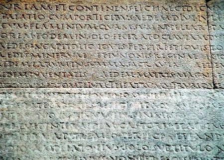 Associazione italiana di cultura classica delegazione di - Res gestae divi augusti ...